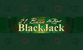 21 Burn Black Jack Hi Limit