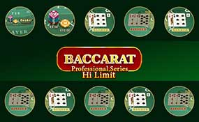Baccarat Professional Series High Limit