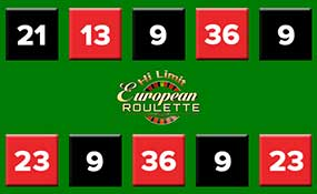 European Roulette Hi Limit