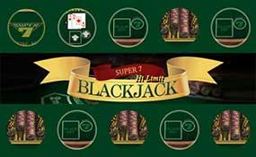 Super 7 Blackjack Hi Limit