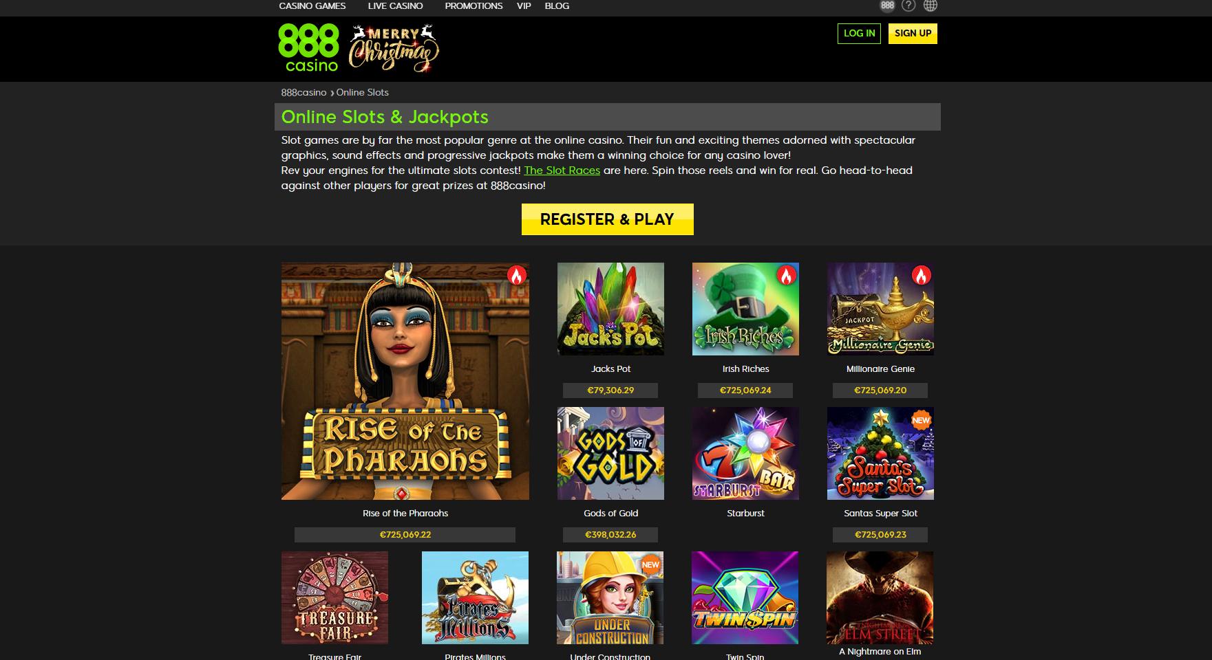 Online-Slots-888casino